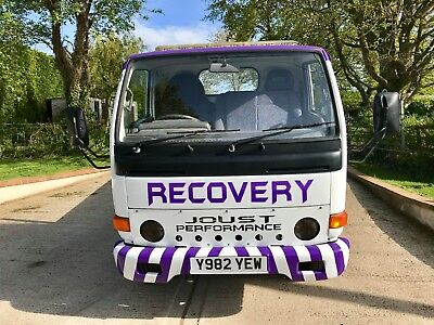 Nissan E110 Cabstar Recovery Truck, Car Transporter,SPARES OR REPAIR NO RESERVE!