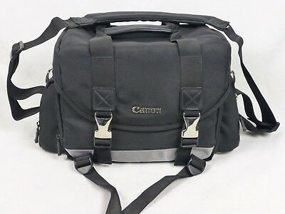 Canon Large 200DG Digital Camera Gadget Bag Water Repellent Adjustable Dividers