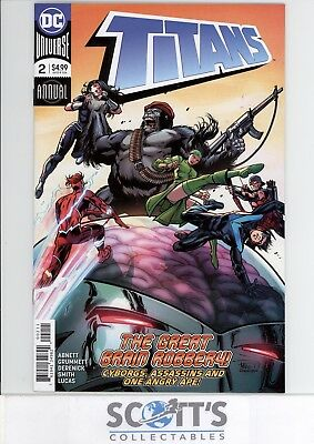Titans Annual #2 New  (Bagged & Boarded) Freepost