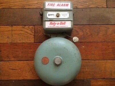 Joblot Vintage Industrial Electric Fire Alarm Bells By Gents Of Leicester