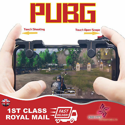 PUBG Mobile Phone Shooter Controller Game Trigger Gamepad Fire Button Handle Gif