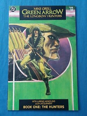 Green Arrow: The Longbow Hunter, Book 1-3 [1987,DC]