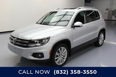Volkswagen Tiguan AWD SE 4Motion 4dr SUV w/Appearance Texas Direct Auto 2015 AWD SE 4Motion 4dr SUV w/Appearance Used Turbo 2L I4 16V