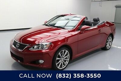 Lexus IS  Texas Direct Auto 2014 Used 3.5L V6 24V Automatic RWD Convertible Premium