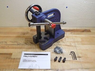 Palmgren Single Leverage Arbor Press w/ Depth Stop 1 Ton Pressure 9661101