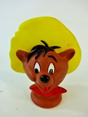 Vintage Speedy Gonzales Hand Puppet HEAD Warner Bros Seven Arts Looney Tunes Toy