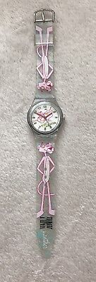 Pink Panther Plastic Watch