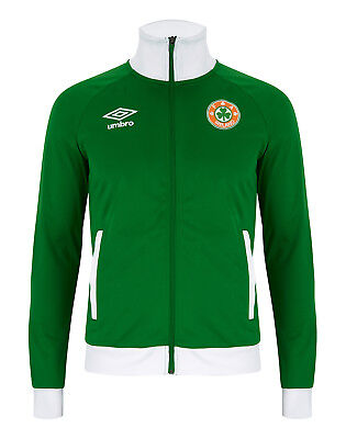 Republic Of Ireland Football Soccer Umbro Mens Retro Anthem Jacket Size Large