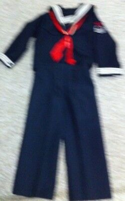 Vintage Boys 4 sailor suit R Gee originals made in USA child or doll
