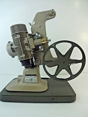 Bell And Howell Regent Deluxe 8MM Movie Projector Model Design 122-LR - AS IS