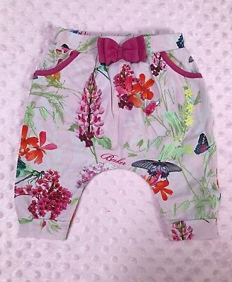 Ted Baker baby girl harem pants bottoms trousers size 3-6 months