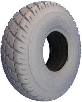 """Pair of Jazzy Select 6 10x3"""" solid Tires 260x85, 3.00-4, 114108 wheelchair scoot"""