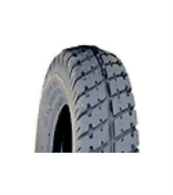 """2 tires solid, 2.80/2.50-4, Lt Grey, Tread C9210 2 1/2"""" new wheelchair scooter"""