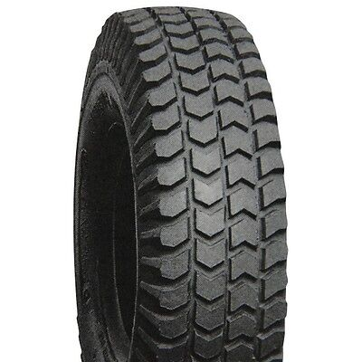"2 wheelchair tires 14x3"" (300-8), Lt Grey solid knobby shoprider merits ctm."