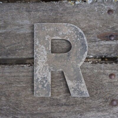 Vintage Marquee Theater Letter R Wagner Sign Service 8 Inch Antique R2