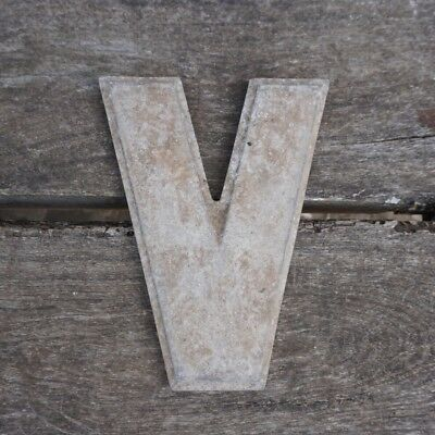 Vintage Marquee Theater Letter V Wagner Sign Service 8 Inch Antique V2