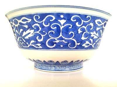 Antique Japanese blue and white Bowl