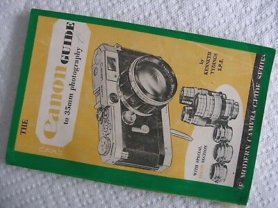 "Vintage 1956 ""the Canon Guide To 35Mm Photography"" W/special Color Section Vg!"