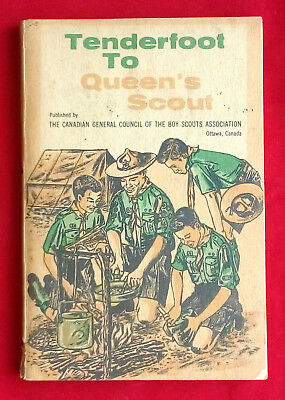 1960 Tenderfoot To Queen's Scout Canadian BoyScout Handbook