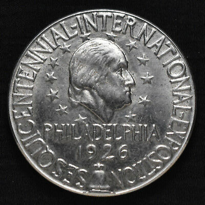 1926 Us Sesquicentennial Expo, Official Medal, So-Called Dollar, Nickel, Hk454