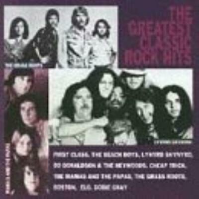 Various Artists : Greatest Classic Rock Hits CD