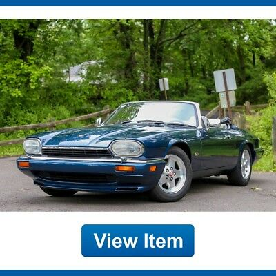 Jaguar XJS 2+2 Convertible L6 40K mi Southern Collectible CARFAX 1995 Jaguar XJS 2+2 Convertible L6 40K mi Southern Collectible CARFAX