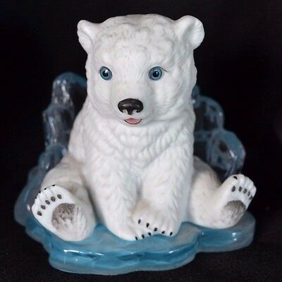 Young Prince 1995 Little Friends Of The Arctic Hamilton Polar Bear Figure