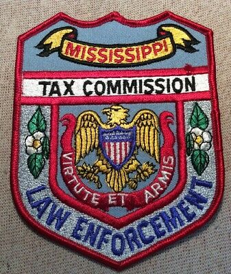 MS Mississippi Tax Commission Law Enforcement Patch