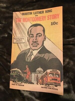 Martin Luther King and The Montgomery Story Comic Book Vintage
