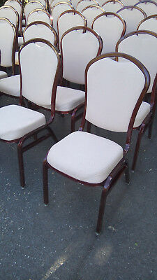 Burgundy Frame Stackable Banquet/Ballroom, Conference Room or church Chairs