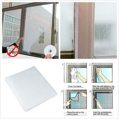 Flyscreen Insect Bug Anti Mosquito Fly Door Window Curtain Net Mesh Fly Screen#P