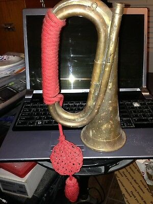 Antique Military Cavalry Bugle