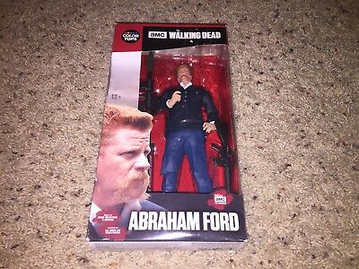 Abraham Ford The Walking Dead McFarlane Toys Series 7 Action Figure *NEW IN BOX*