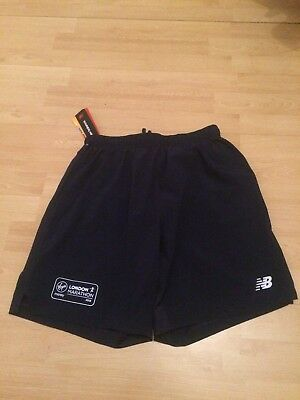 New Balance London Marathon 2018 Shorts, Navy Blue  ,Size :Small (Brand New)