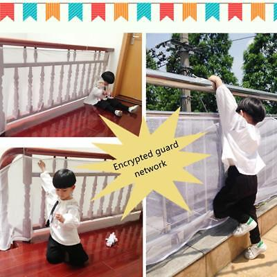 Deck Guard - Safe Rail Net, Indoor Balcony And Stairway Railing Safety Net