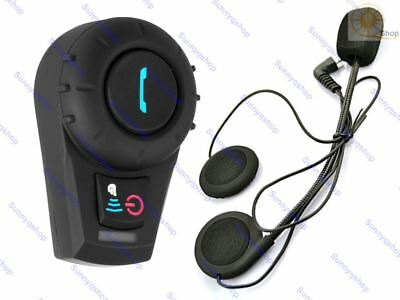 Helmet Bluetooth Headset Intercom for Motorcycle Skiing Communication Systems