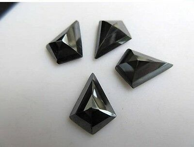 10 Pieces 14x10mm Calibrated Natural Hematite Fancy Shaped Cabochons - BB452