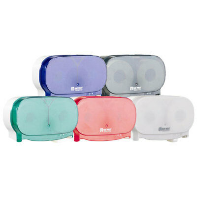 Bay West side by side Toilet Roll Dispenser (various colours)