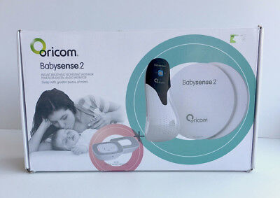Oricom Babysense 2 Infant breathing and movement monitor plus SC55 digital audio