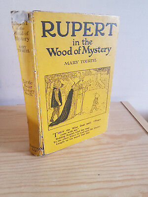 RUPERT IN THE WOOD OF MYSTERY Little Bear Library No. 5 - Mary Tourtel