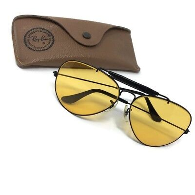 Bausch & Lomb BL Ray-Ban Aviator Kalichrome Glasses Yellow/Gold Lenses Shooters