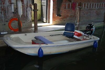 Dory 11 Ft With Electric Start Four Stroke Mercury Outboard