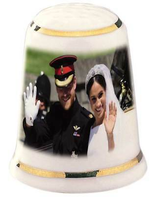 The Wedding of Prince Harry and Meghan - Royal Wave - Commemorative Thimble