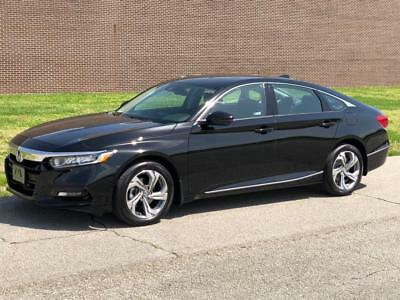 Accord EX-L Honda Accord Crystal Black Pearl with 859 Miles, for sale!