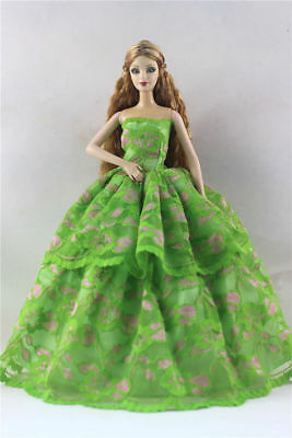 Fashion Princess Party Dress/Evening Clothes/Gown For Barbie Doll p02