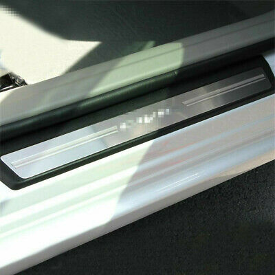For Honda Civic 06-15 Sedan Steel Door Sill Scuff Plate Guard Door Entry Pad