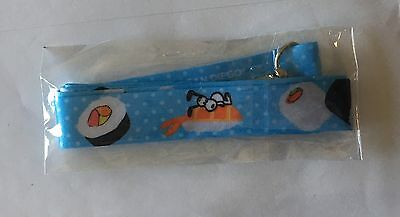 Snoopy Sushi Lanyard Limited Edition San Diego Comic Con SDCC 2017 Peanuts Japan
