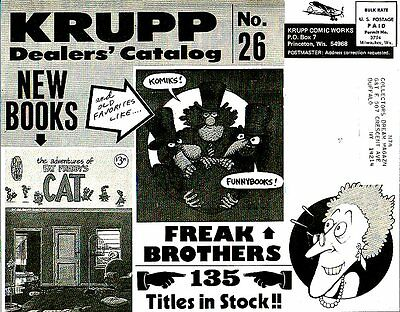 DGLib 1222: Krupp Comic Works Dealers' Catalog 26 1978