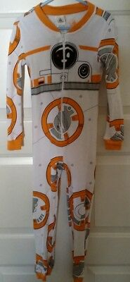 New in Package Disney store Star Wars BB-8 One-piece PJ size 6