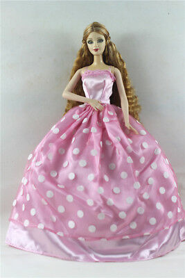 Fashion Princess Party Dress/Evening Clothes/Gown For Barbie Doll p34